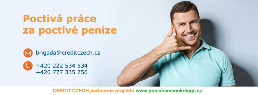Nový partner – CREDIT CZECH s.r.o.